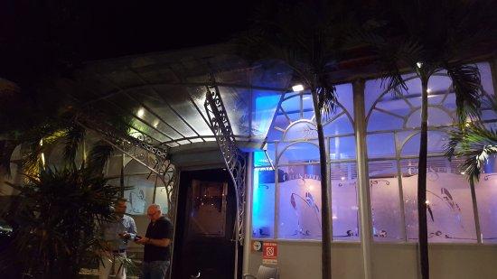 La Croisette: Вход