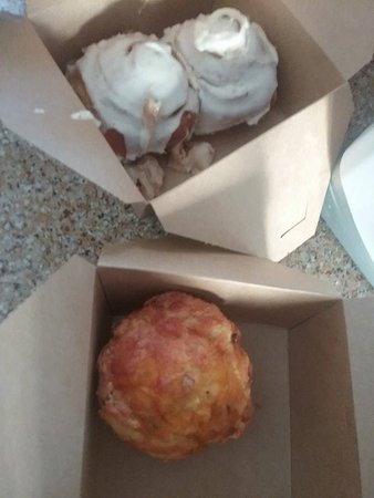 Faribault, MN: cinnamon rolls and surprise delight