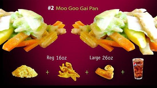 Forsyth, MO: #2 Moo Goo Gai Pan
