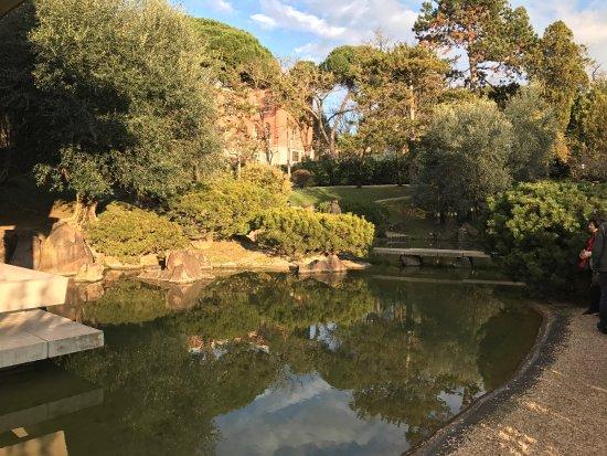 La nostra visita al giardino giapponese di roma foto di