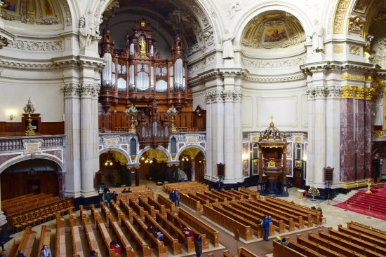 interior picture of berlin cathedral berlin tripadvisor. Black Bedroom Furniture Sets. Home Design Ideas