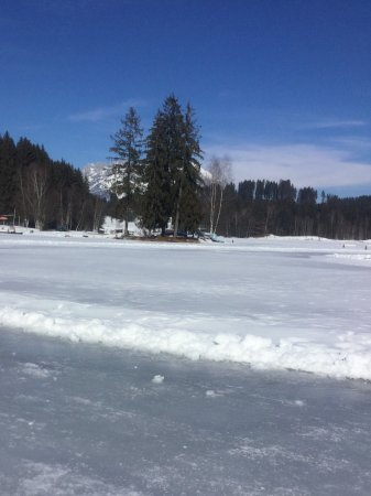 Hotel Edelweiss: My frozen lake