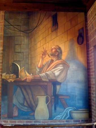 Wilkesboro, Carolina del Nord: Ben Long's Fresco Epistles