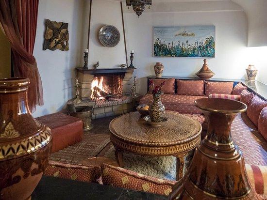 Petit Salon Coin Cheminee Picture Of Villa Quieta Essaouira