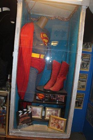 Metropolis, IL: George Reeves color costume.