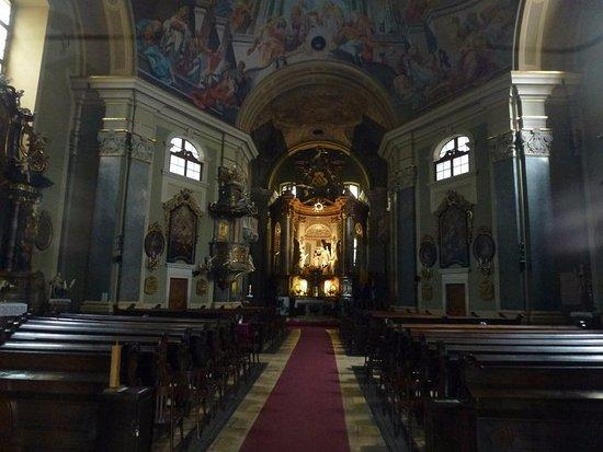 Belvarosi Szent Anna Templomigazgatosag : The church.