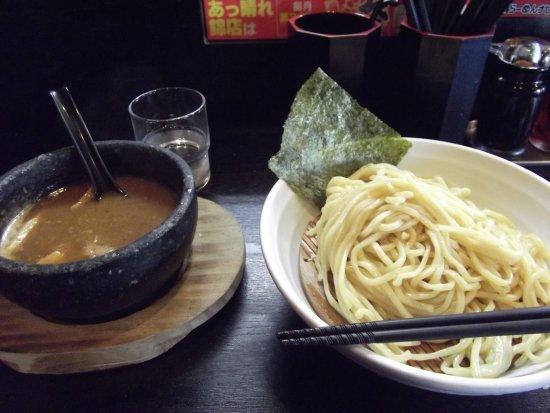 Higashiura-cho, Japan: 海老辛つけ麺