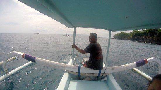 Paradise Diving Bali - Deutsche Tauchschule: Unser Tauchboot