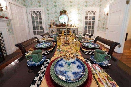 Auburn, NY: Dining room