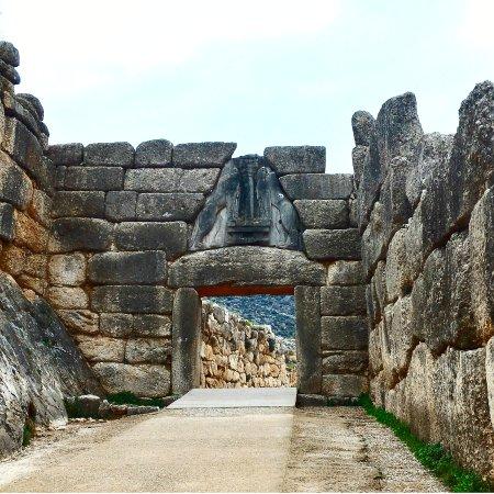Mycenae, Grecia: 獅子の門