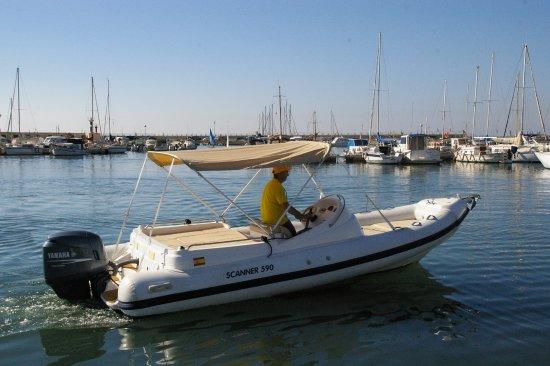 scanner 590 yamaha 4t 115 cv picture of smile boats palma de