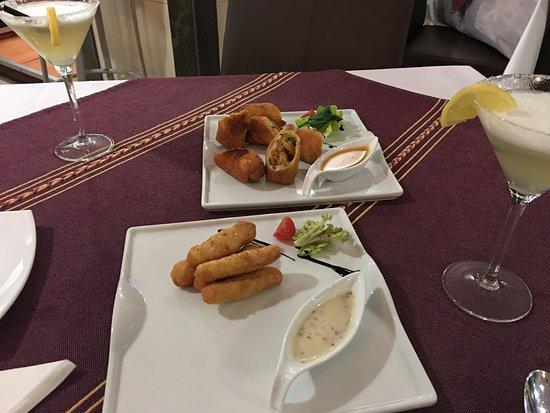 Región de La Massana, Andorra: Tortillas Vera Cruz, de gambas y verduras, exquisitas