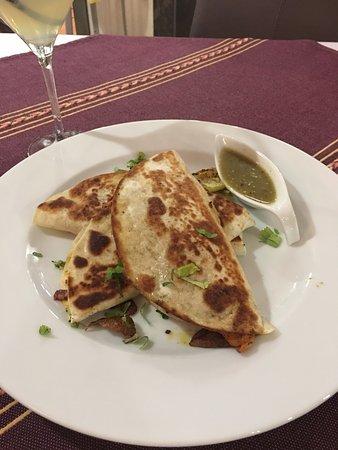La Massana Parish, Andorra: Quesadillas de queso El Pastor, muy buenas