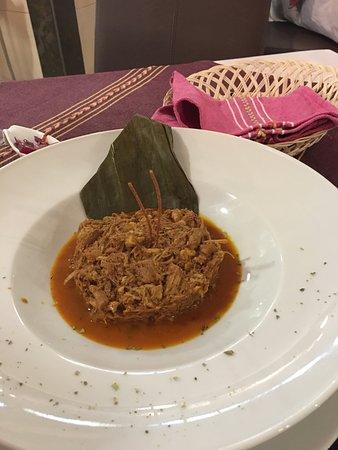Paroisse La Massana, Andorre : Cochinita Pibil, la razón de que me encanten los restaurantes mejicanos, deliciosa