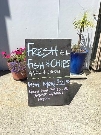Fantastic fresh fish & chips in Ruakaka