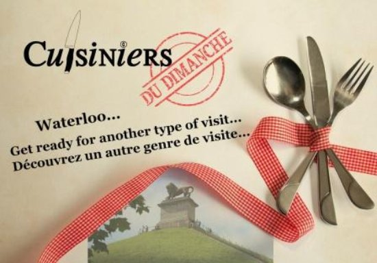 Waterloo, Bélgica: A culinary experience you will remember - Une expérience culinaire dont vous vous souviendrez...