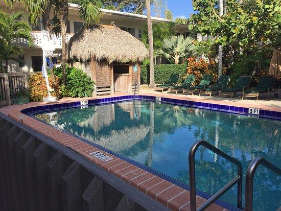 Crane's Beach House Boutique Hotel & Luxury Villas: Larger lap pool near the breakfast dining area.