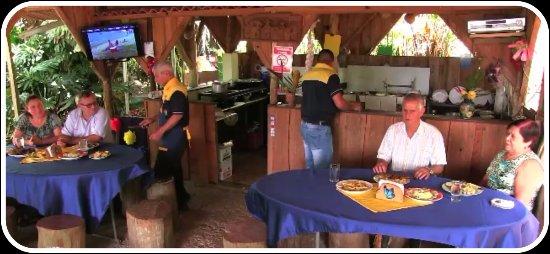 Paraiso, Costa Rica: rancho de truchas la fuente