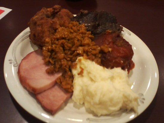 East Earl, بنسيلفانيا: Plate #1 at the Shady Maple!
