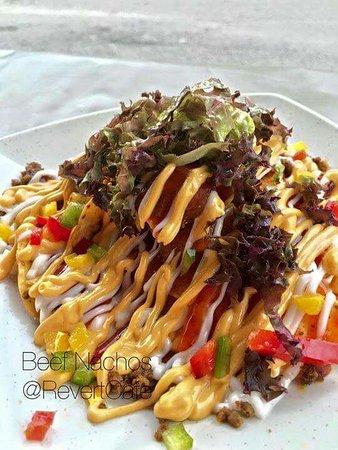 Pasir Gudang, มาเลเซีย: beef chachos  .yummmyy