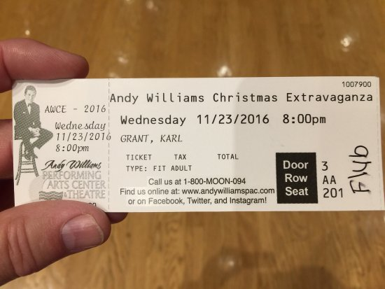 Andy Williams Performing Arts Center & Theatre: photo1.jpg