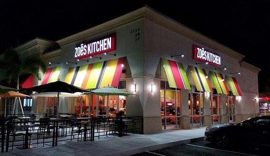 Zoes Kitchen Orlando 4724 Millenia Plaza Way