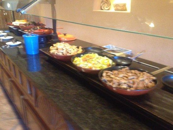 Santa Ana Pueblo, NM: Local Authentic buffet