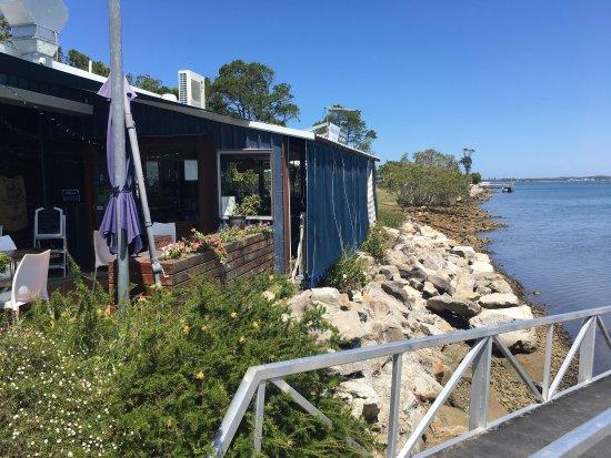 Iluka, أستراليا: Marracas Boatshed Cafe