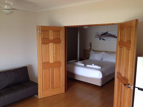 Lee Point, Australie : living/bedroom area