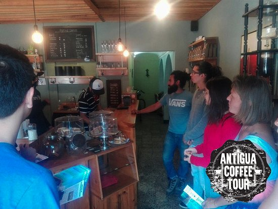 ‪Antigua Coffee Tour‬