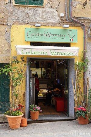 Gelateria Vernazza: ジェラテリア・ヴェルナッツァ