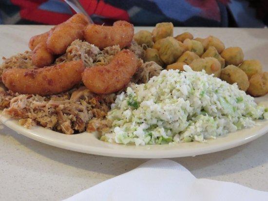 Pittsboro, NC: BBQ Plate