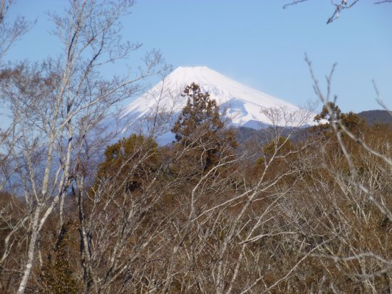 Shuzenji Onsen: Walking around Shuzenji Feb 7, 2017 -- Mount Fuji