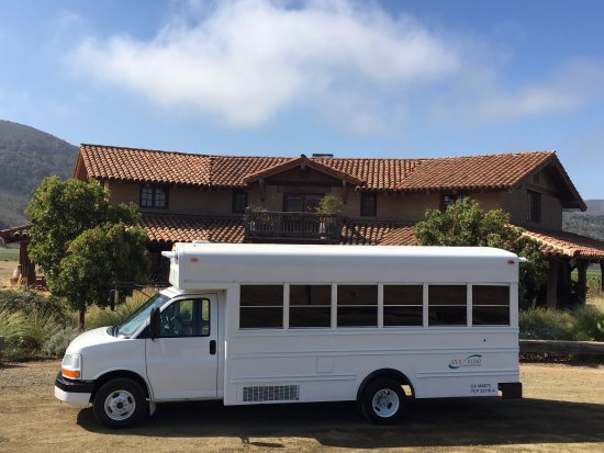 Solvang, CA: Party Bus