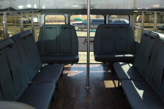 Solvang, CA: Party Bus Interior