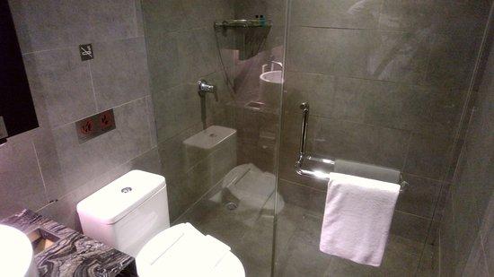 Sepang, Malasia: シャワーをかりることが出来ます。
