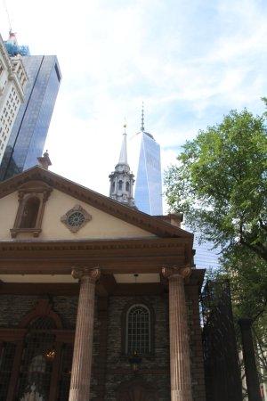 Capilla de San Pablo: St. Paul's Chapel and OWTC.