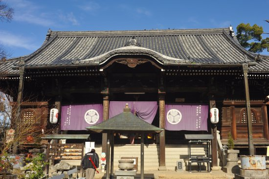Shidoji Temple : 信仰を集める本殿