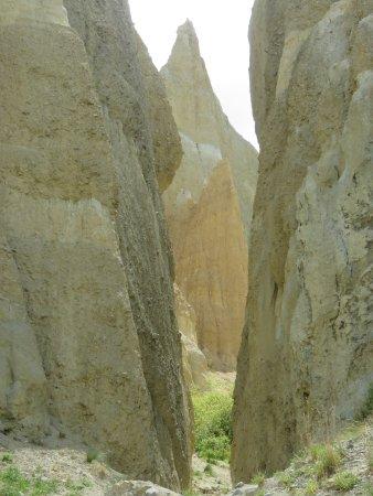 Omarama, Nya Zeeland: clay cliffs