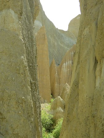 Omarama, Νέα Ζηλανδία: clay cliffs
