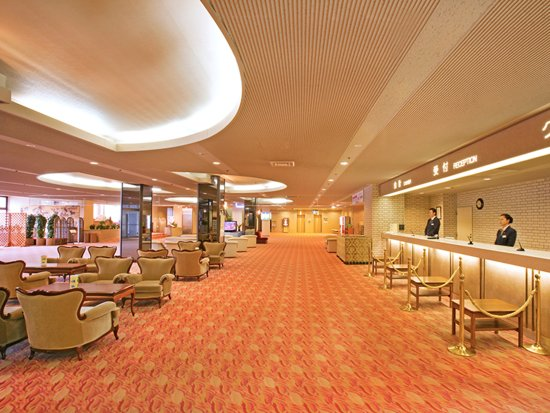 Urabandai Royal Hotel: ロビー