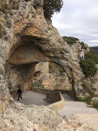 Villalba de la Sierra, Spain: ventana del diablo
