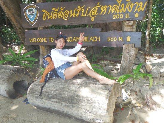 Khuraburi, Tajlandia: 標識前