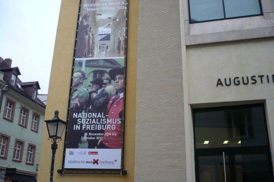 Augustinermuseum: l'entrée du musée