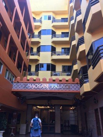 Khaosan Palace Hotel: entree hotel