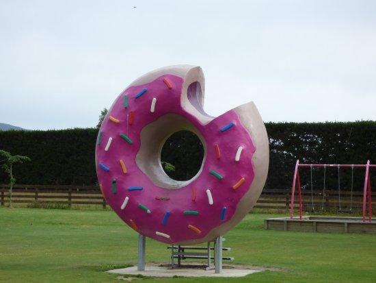 Springfield, Nuova Zelanda: Giant do-nut