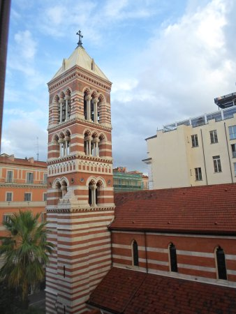 Hotel Martini: View from our room - a lovely church.
