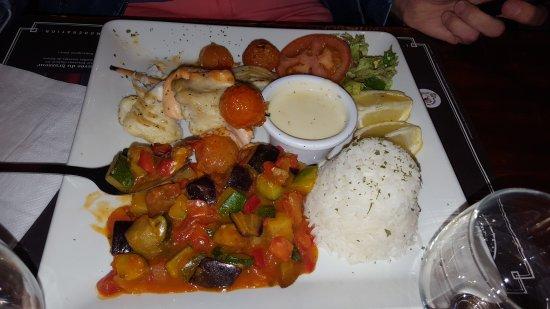 Lieusaint, France: Repas très bon pas trop cher