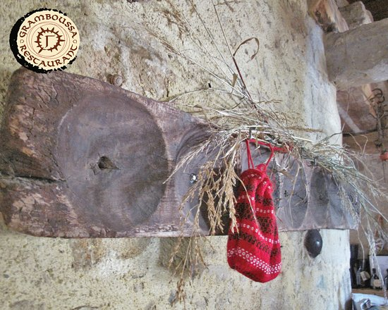 "Kaliviani, Greece: ""Pinakoti"" with this at the old years women carried the bread that to the wood oven of th"