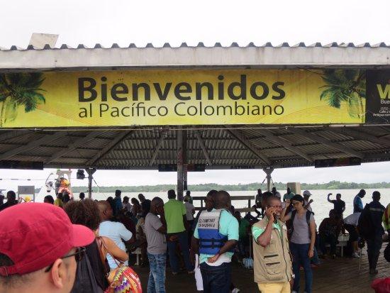 Trip Trip: Ferry station at Buenaventura